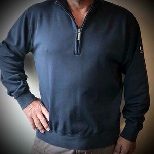 Fairway & Greene 1/4 Zip Navy Blue Golf Sweatshirt
